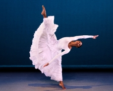 AAADT's Jacqueline Green in Alvin Ailey's Cry. Photo by Paul Kolnik