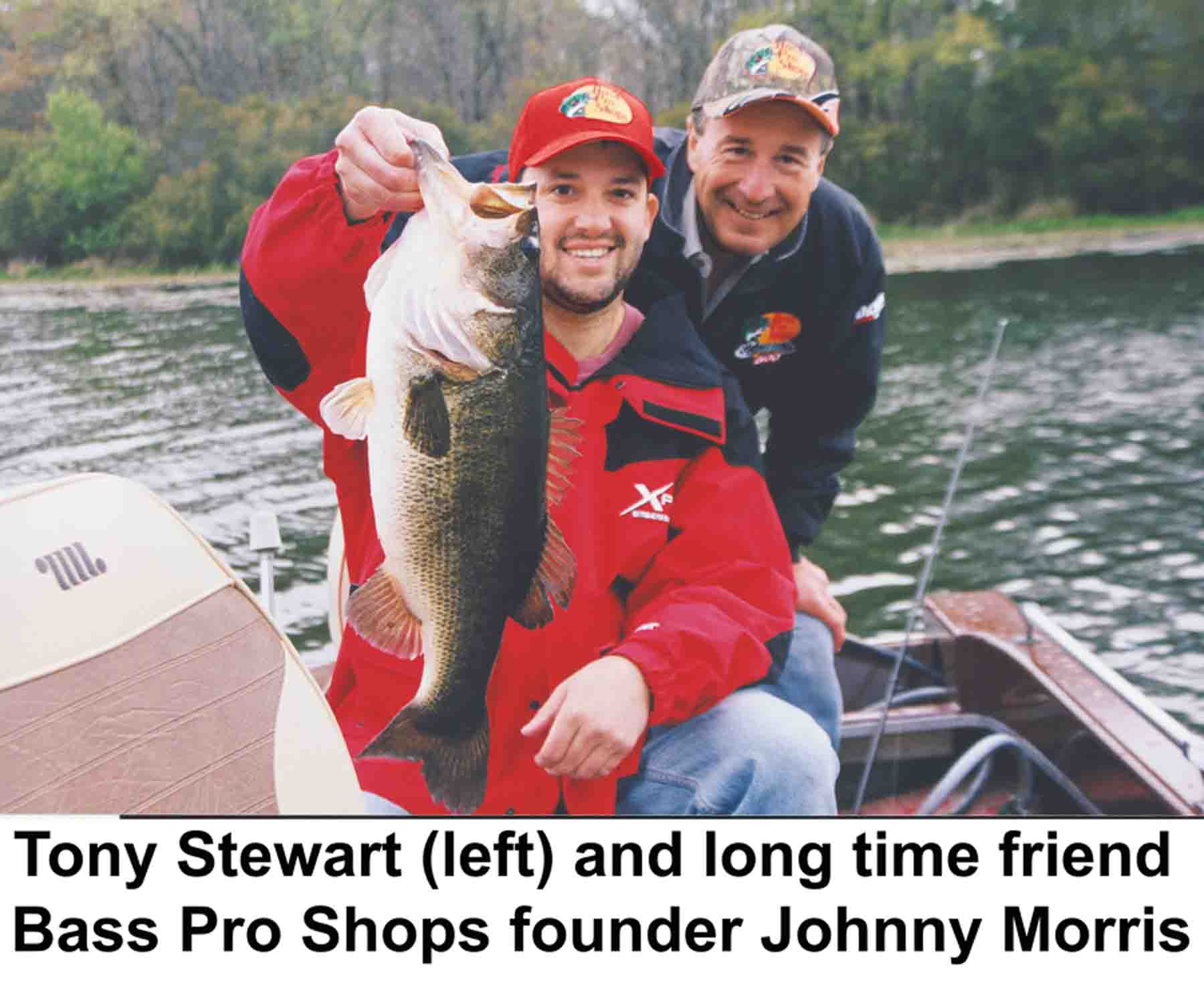 Tony Stewart & Johnny Morris Bass Pro Founder