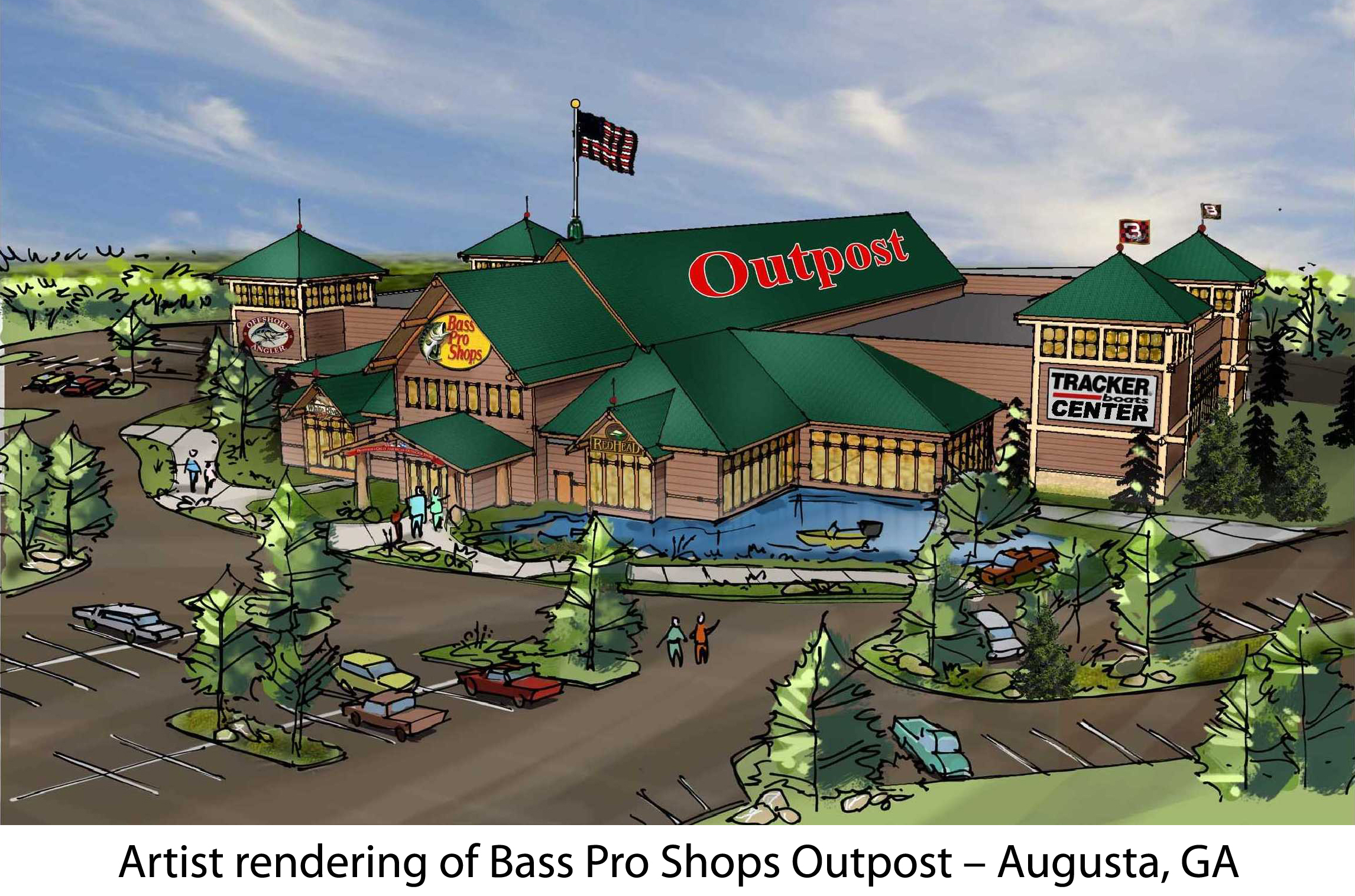 Sporting goods outdoor stores bass pro shops for Fishing in augusta ga
