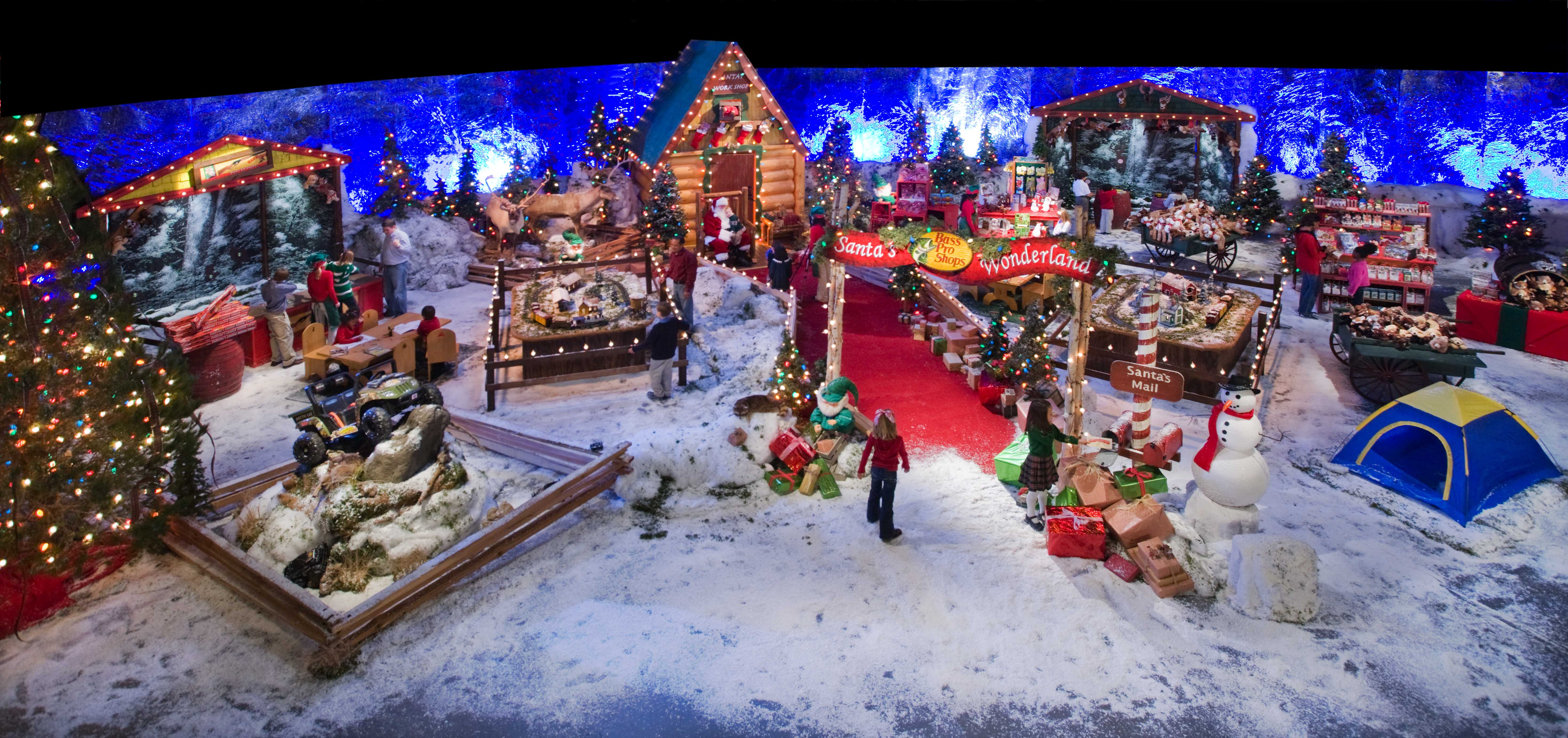 Bass Pro Shops Santa's Wonderland brings the magic of Christmas to ...