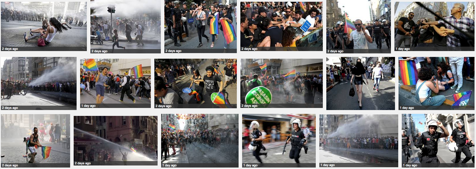 Google image search Turkey pride parade 2015