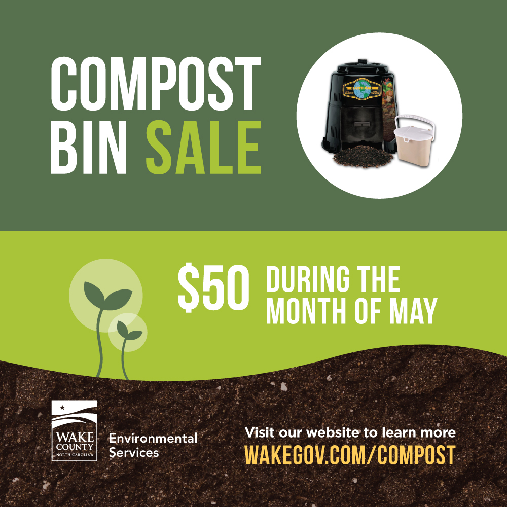 Just 50 For Everything You Need To Start Composting Wake County News