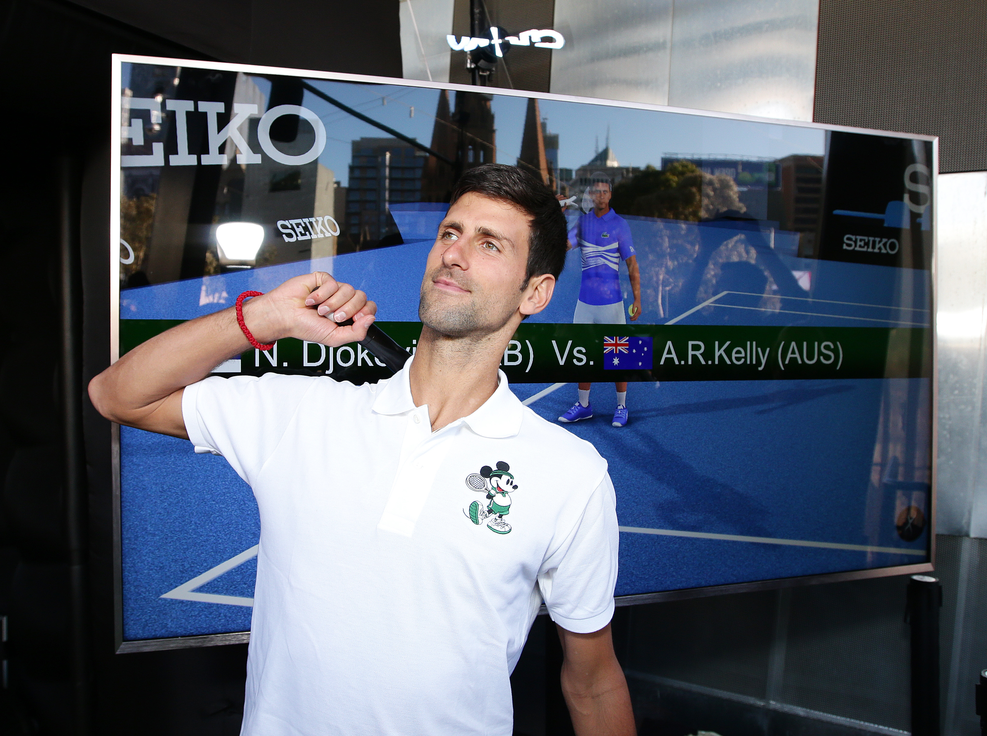 Novak Djokovic Takes Time Out To Meet His Greatest Opponent thanks to Seiko.jpg