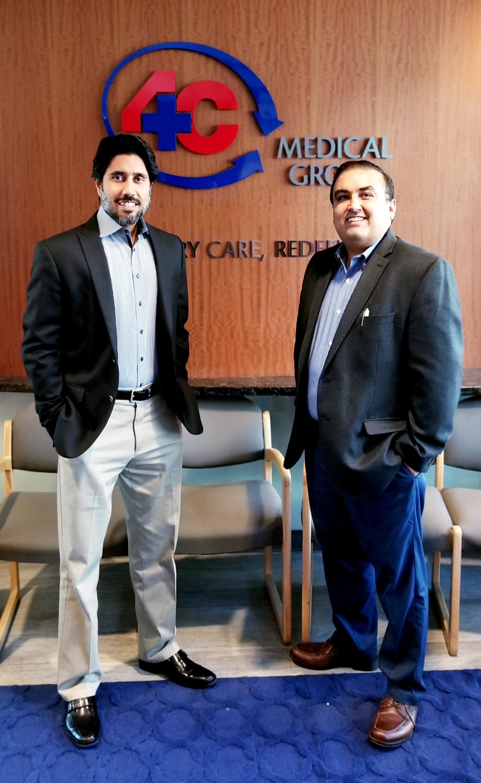 4C Medical Group's CEO Varesh Chaurasia and its Chief Medical Officer Dr Vishal Verma.jpg