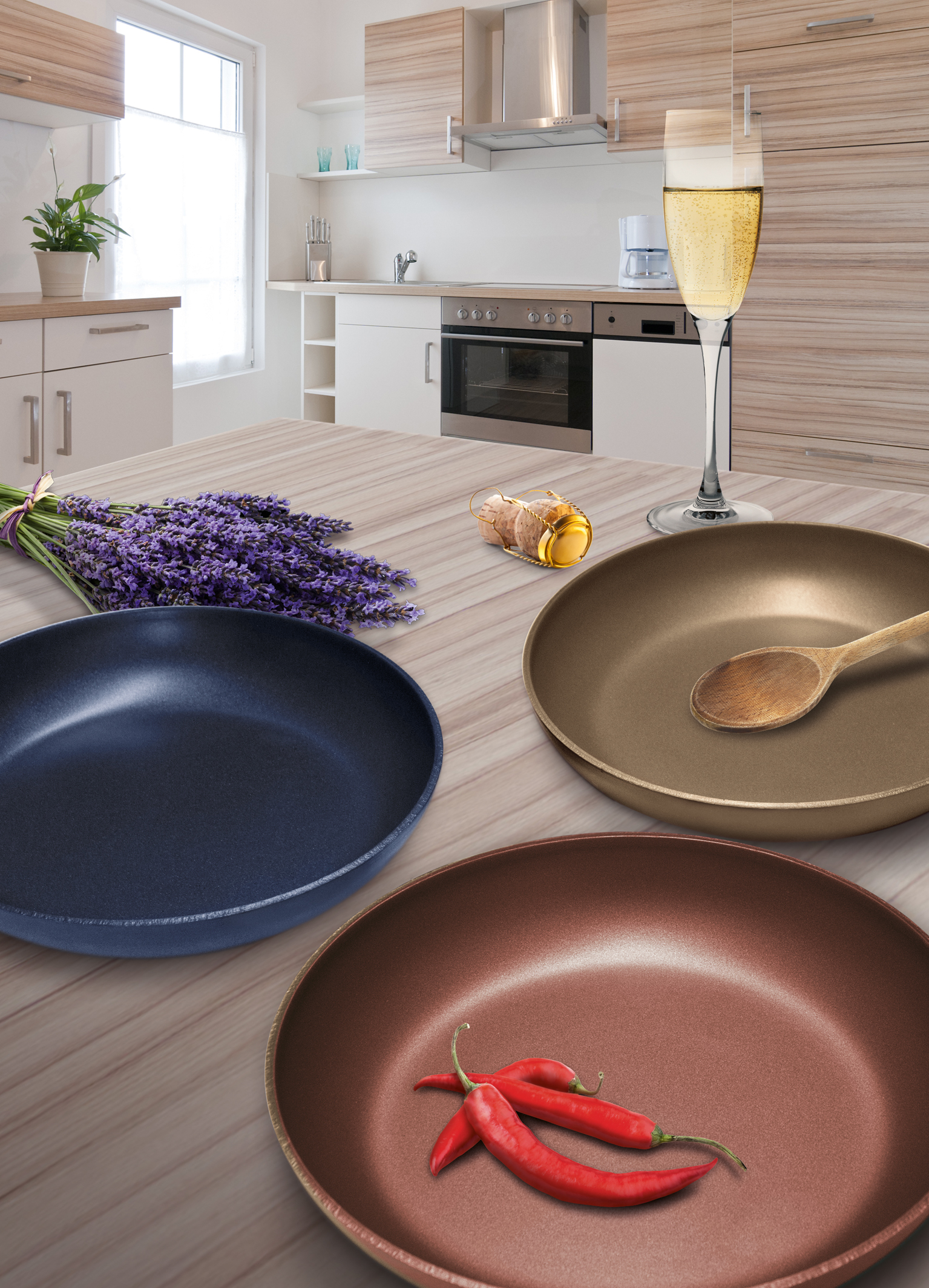 Cookware with DuPont™ Teflon® Nonstick Coating is a