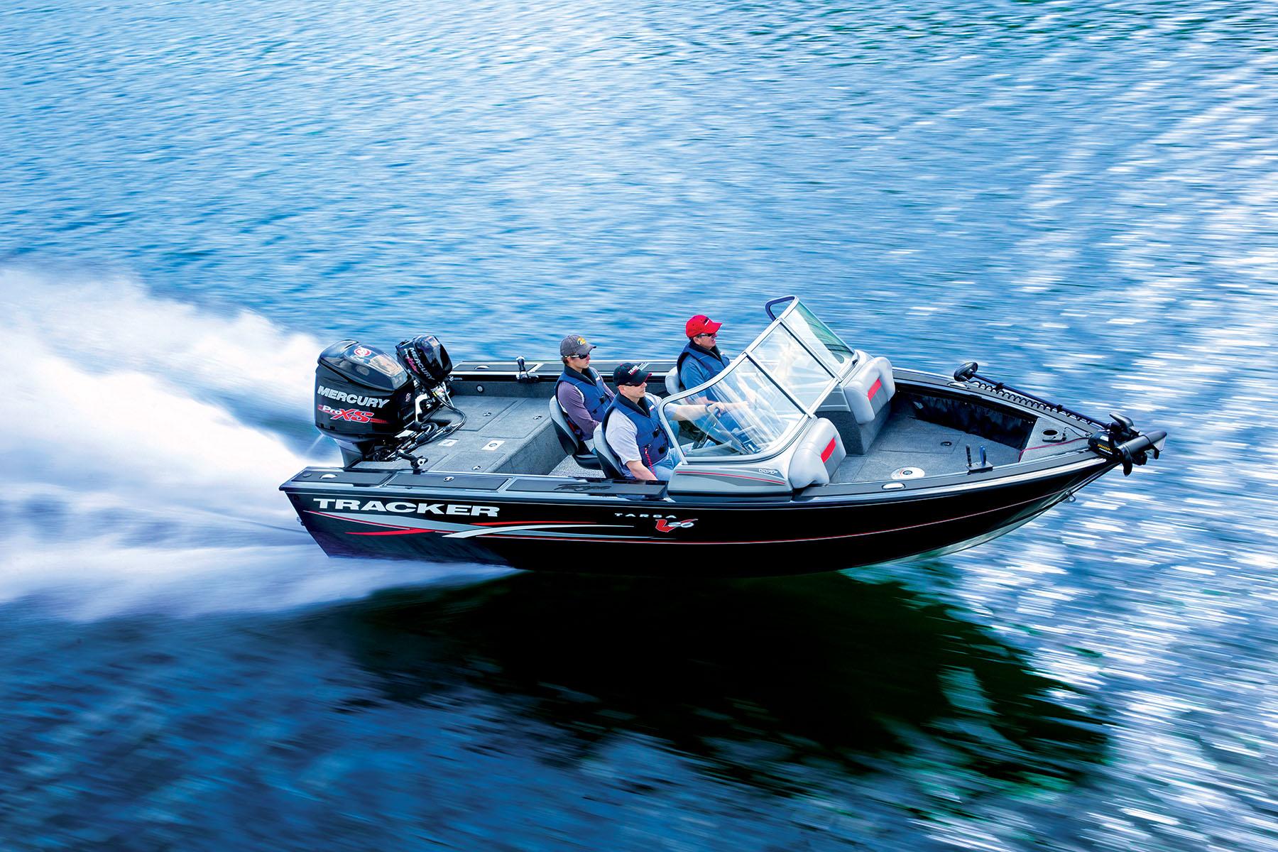 2016 tracker targa v 20 wt fishing boat for Tracker fishing boats
