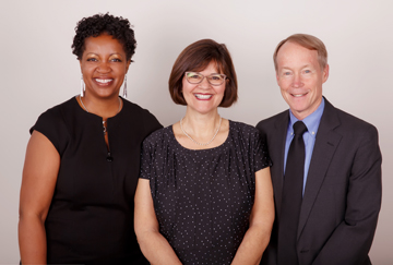 AAMG Chesapeake Family Medicine providers (l to r) Tammy Jones, MD; Patricia Valentino, CRNP; and Scott Eden, MD.