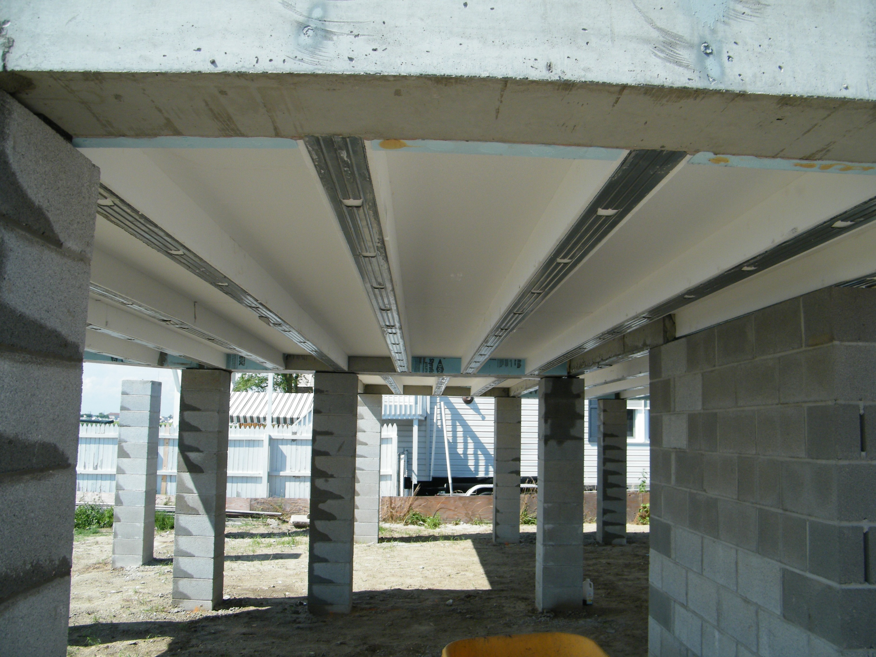 There are several reasons why I like specifying Prespan concrete floor planking in our designs