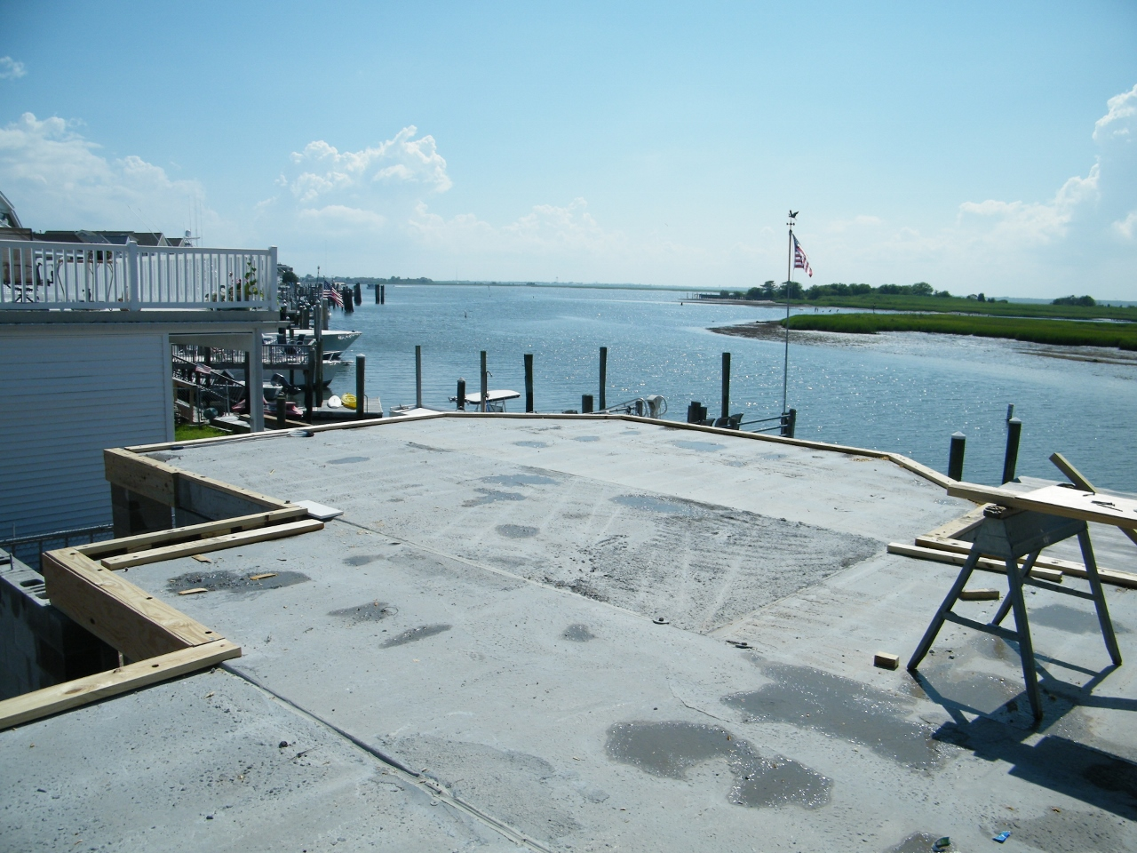 Our projects are often subject to flood conditions, hurricane wind forces, salt air spray and sandy soil conditions.