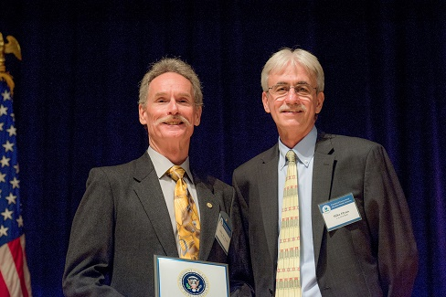 John Wood with Acting Deputy Administrator Mike Flynn